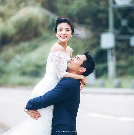 5 năm sau scandal sex trong toilet, mỹ nhân TVB khoác váy cưới - 4