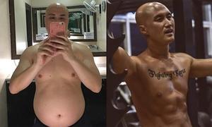 Diễn viên Hàn từ 'bụng bia' thành 6 múi trong 3 tháng