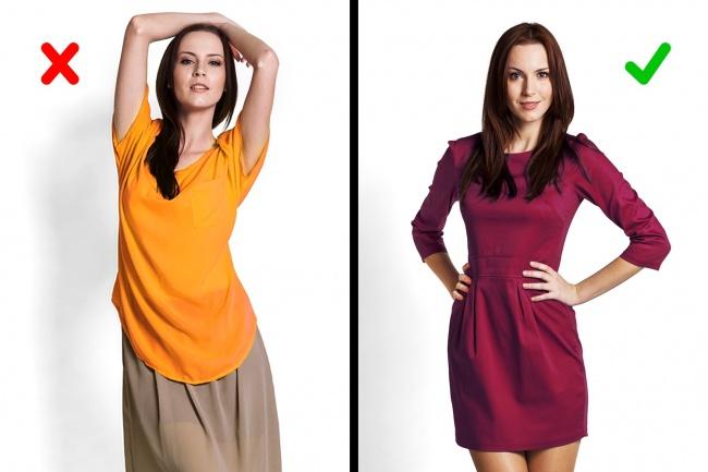 6 mẹo thời trang giúp bạn trông thon gọn hơn