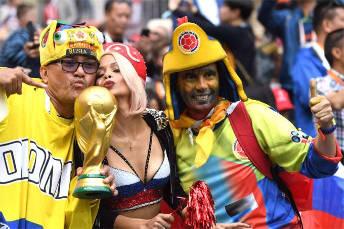 Những bóng hồng rạng rỡ trong lễ khai mạc World Cup - 5