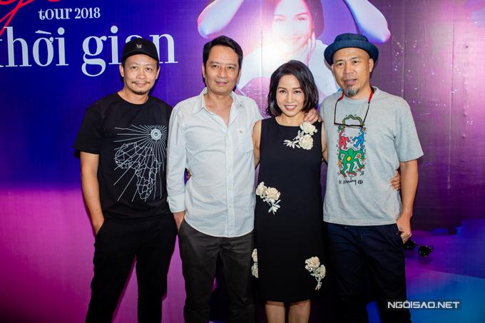 Đạo diễn Phạm Hoàng Nam và nhạc sĩ Huy Tuấn