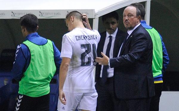 Denis Cheryshev là tác nhân khiến Real bị loại khỏi Cup Nhà vua Tây Ban Nha 2015 dù giành chiến thắng trước Cadiz.