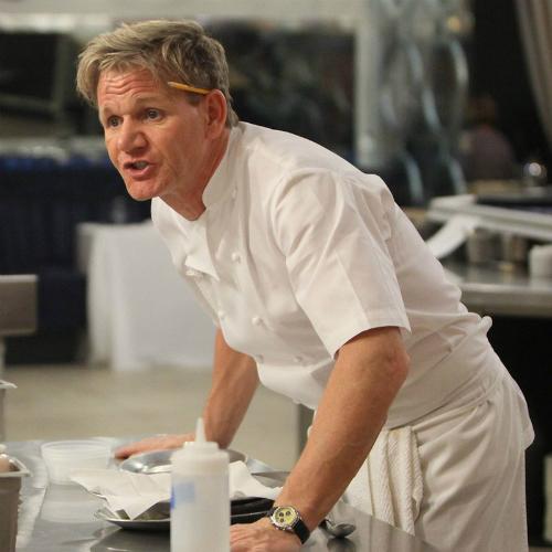 Hình ảnh giận dữ và ngoa ngoắt quen thuộc của Gordon Ramsay trên truyền hình. Ảnh:FOX.