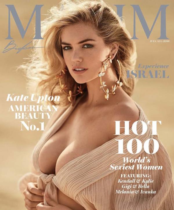 Kate Upton là người đẹp nóng bỏng nhất năm.