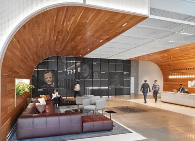 Tầng trên của học viện là khu vực bếp để hãng nghiên cứu các loại nước sốt và bánh mì mới. Ảnh: CNBC.