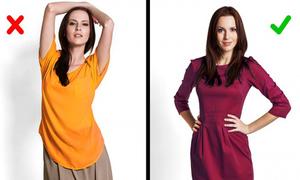 7 mẹo thời trang giúp bạn trông thon gọn hơn