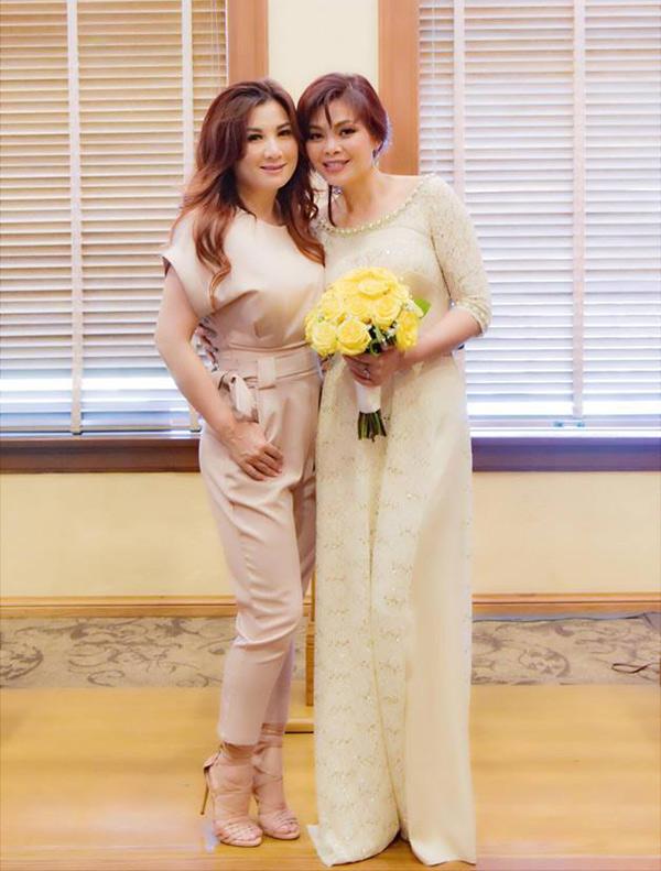 Trizzie Phương Trinh dự lễ chứng hôn của Ngọc Anh 3A ở Mỹ.