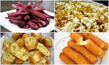 Tự làm 4 món snack nhanh gọn mùa World Cup