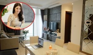 Hoa hậu Jolie Nguyễn sống một mình trong căn hộ chung cư giá 4,5 tỷ đồng