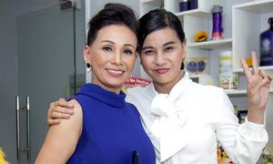 Cát Phượng giới thiệu em gái ruột là Việt kiều Mỹ