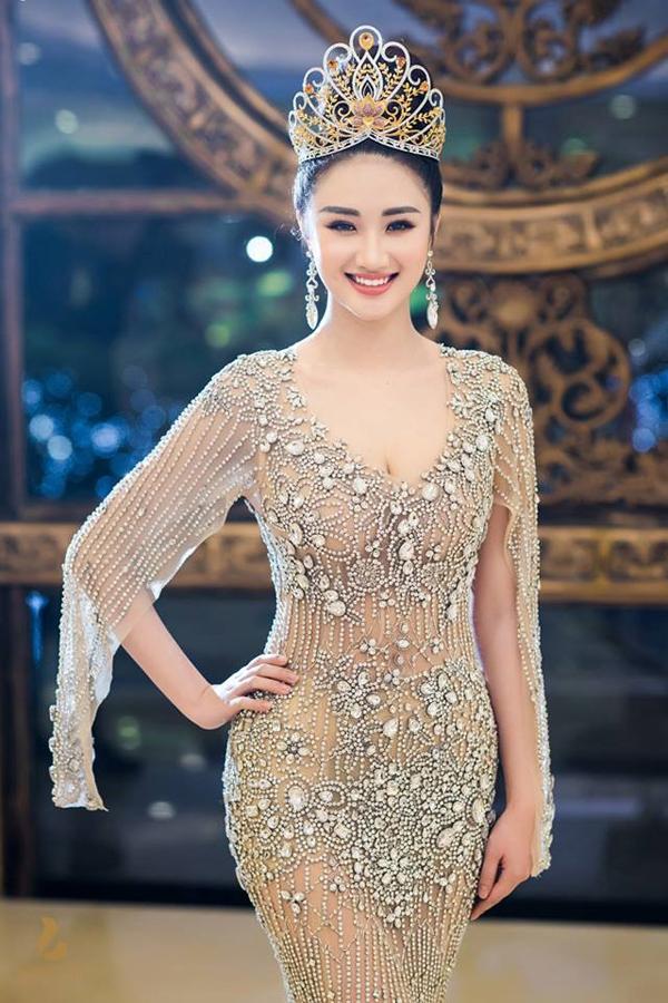 Hoa hậu Thu Ngân sau khi đăng quang