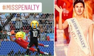 Đá trượt penalty, Messi thành chủ đề bị chế ảnh và so sánh với Ronaldo