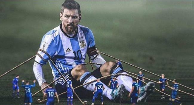 Messi thành chủ đề hot cho cộng đồng chế ảnh đá trượt penalty - 1