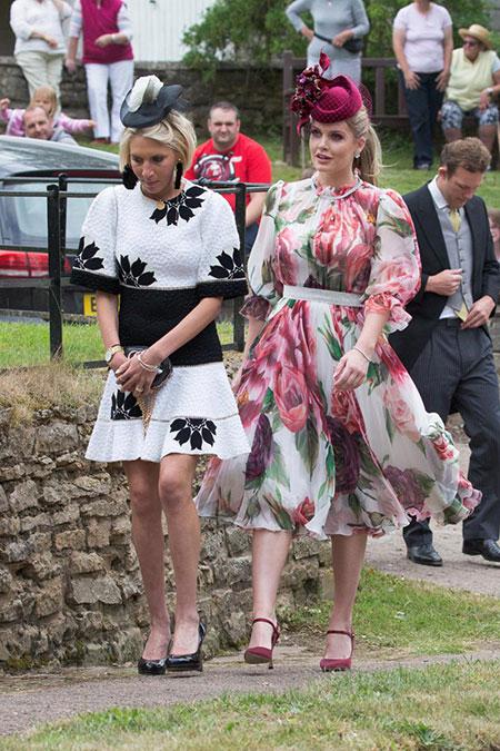 Vợ chồng Harry sánh đôi dự đám cưới của cháu Công nương Diana - 11