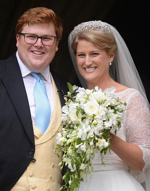 Vợ chồng Harry sánh đôi dự đám cưới của cháu Công nương Diana - 6