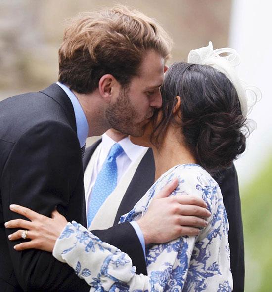 Vợ chồng Harry sánh đôi dự đám cưới của cháu Công nương Diana - 9
