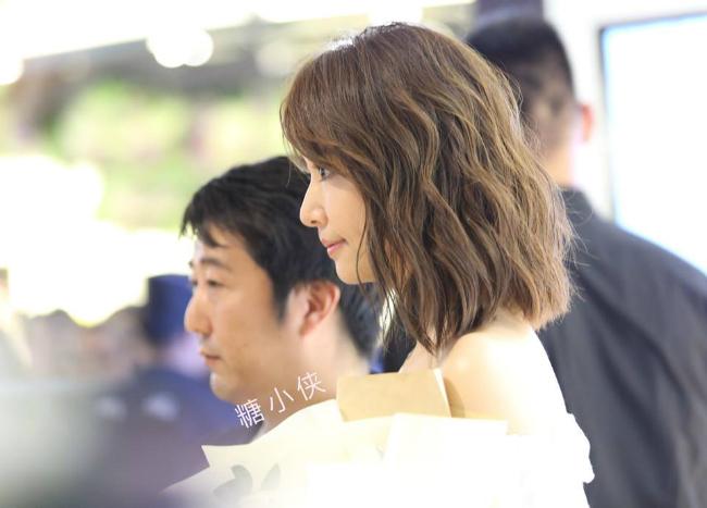 Kiểu tóc mới giúp Lâm Tâm Như xinhđẹp, trẻ trung hơn.