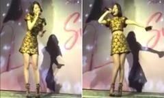 Chi Pu hát live hit 'Người hãy quên em đi' của Mỹ Tâm