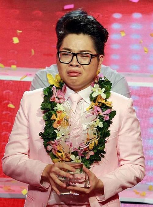 Đức Phúcrụt rè khi vừa đăng quang Giọng hát Việt 2015.