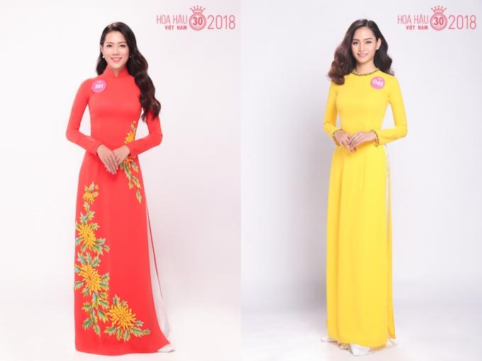 30 người đẹp HHVN 2018 đọ sắc khi diện áo dài - 13