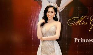 Hoa hậu được yêu thích nhất Miss Glam World Princess thay hai bộ váy tại sự kiện