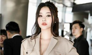 Hoa hậu Đại dương Ngân Anh make up khác lạ fan nhận không ra