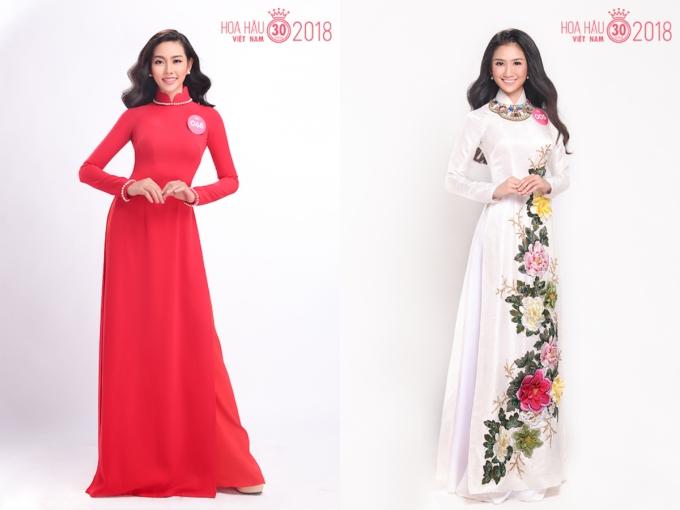 30 người đẹp HHVN 2018 đọ sắc khi diện áo dài - 4