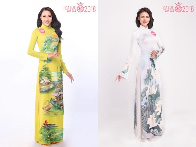 30 người đẹp HHVN 2018 đọ sắc khi diện áo dài - 7