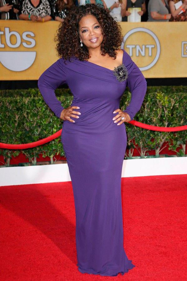 Người phụ nữ quyền lực Oprah Winfrey.