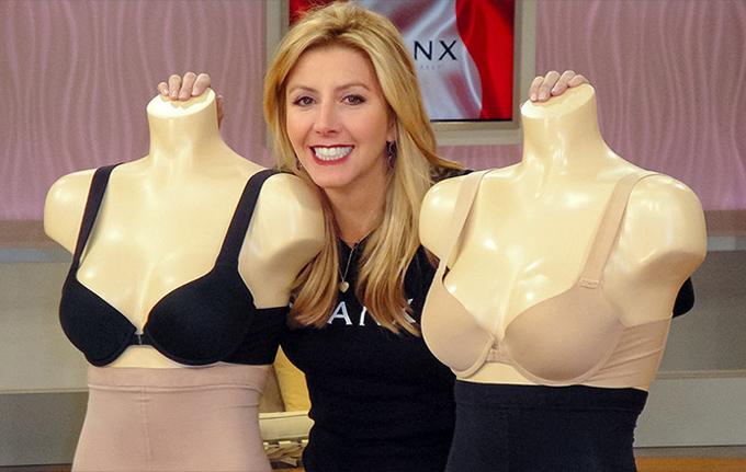 Sara Blakely - bà chủ của Spanx.