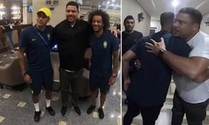 Ro Béo tới khách sạn, vào từng phòng khích lệ Neymar và đồng đội
