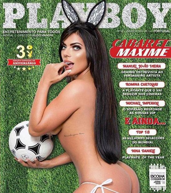 Hoa hậu siêu vòng ba khỏa thân trên Playboy, sắp xuất hiện ở World Cup