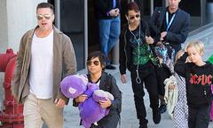 Brad Pitt ở bên các con dịp Father's Day nhờ thỏa thuận mới với Jolie
