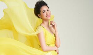 Hoa hậu thân thiện Dương Thùy Linh tham dự Mrs Worldwide 2018