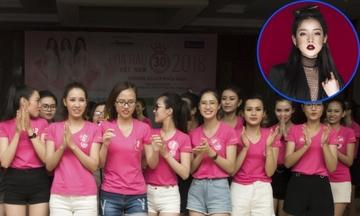 Thí sinh Hoa hậu VN tập nhảy với hit của Chi Pu cho phần thi bikini