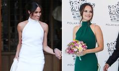 Công nương Thụy Điển 'đụng hàng' váy cưới của Meghan