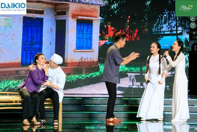 Cẩm Ly mộc mạc chia sẻ về vai diễn mẹ điên hỗ trợ học trò ở bán kết Tuyệt Đỉnh Song Ca Nhí (xin edit)