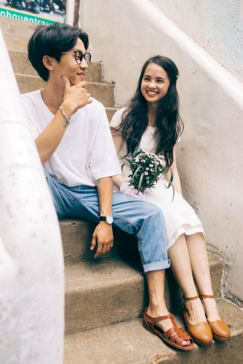 Ảnh cưới chụp tại chung cư cũ chất như phim Hồng Kông - 5