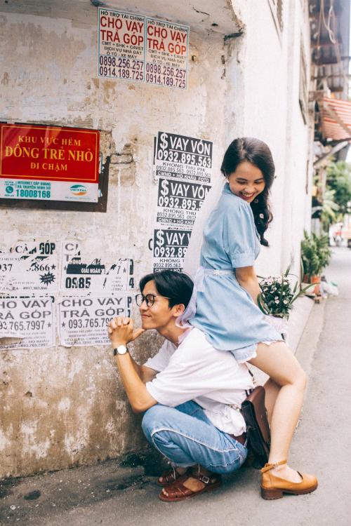 Ảnh cưới chụp tại chung cư cũ chất như phim Hồng Kông - 9
