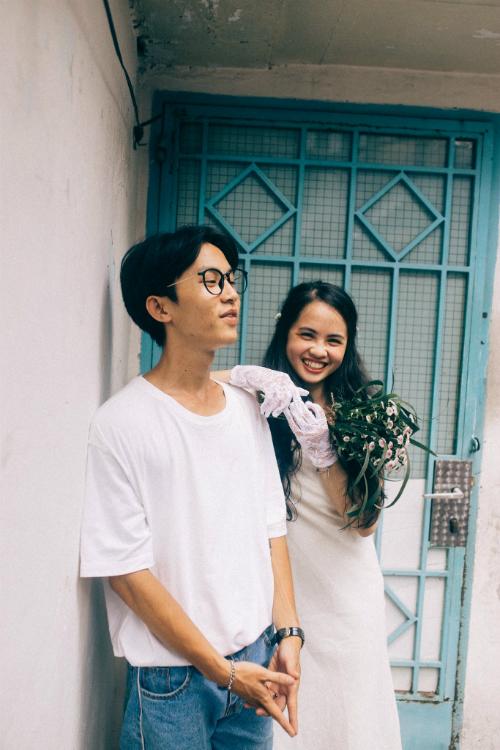 Ảnh cưới chụp tại chung cư cũ chất như phim Hồng Kông - 10