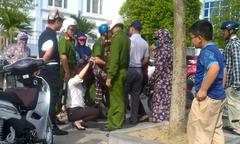 Thiếu nữ Thanh Hóa thoát đòn ghen trên phố nhờ cảnh sát giải nguy