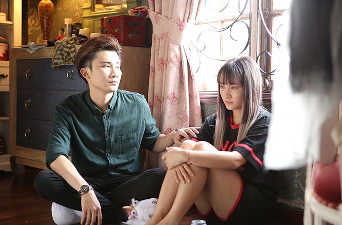 Bảo Thanh đóng cặp với Chí Thiện trong phim mới.