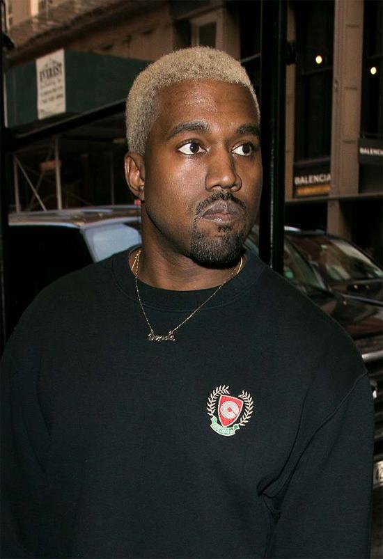 Rapper Kanye West.