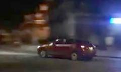 Tài xế Mazda rú ga chạy gần chục vòng quanh hồ Gươm