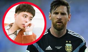 Trịnh Thăng Bình bị fan Argentina chỉ trích vì 'đá xoáy' Messi