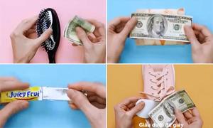 8 cách giấu tiền an toàn không ai ngờ đến khi đi du lịch