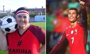 C. Ronaldo ở World Cup 2018