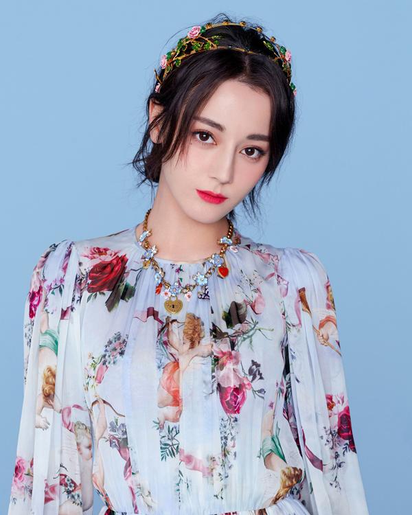 Người đẹp Địch Lê Nhiệt Ba.