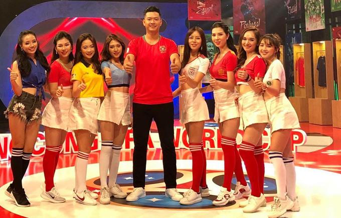 Trước World Cup 2018, Đức Vĩnh từng làm khách mời bình luận về Euro 2012 tại Đài truyền hình Việt Nam.