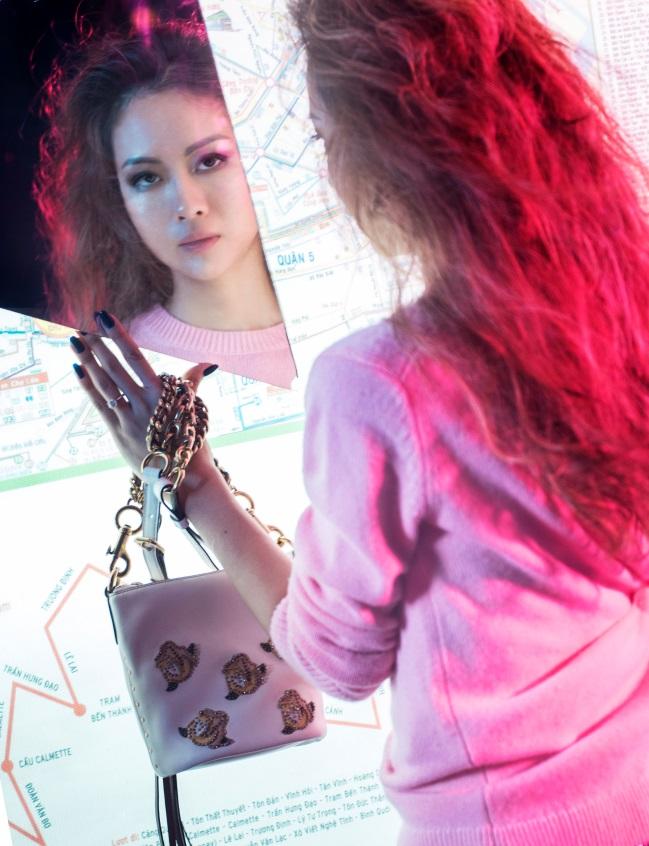 Giới trẻ hiện đại hãy tự tin thể hiện cá tính bản thân để sống trọn vẹn từng giây phút, nữ rapper trải lòng.